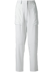 Vanessa Bruno Patch Pocket Trousers Green