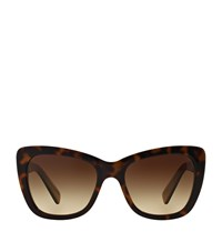 Dolce And Gabbana Butterfly Frame Logo Sunglasses Unisex