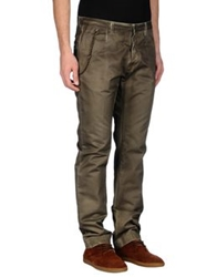 Mgnerd Casual Pants Dark Green