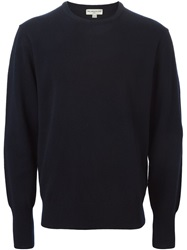 Melindagloss Crew Neck Sweater Blue