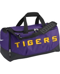 Nike Lsu Tigers Training Duffel Bag Team Color
