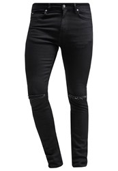 Kiomi Jeans Skinny Fit Black Black Denim