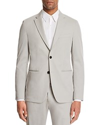 Theory Newson Cotton Deconstructed Slim Fit Suit Separate Sport Coat Gray