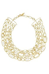 Ippolita 18 Karat Gold Pearl Necklace One Size