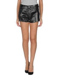 Lez A Lez Denim Shorts Black