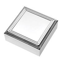 Vera Wang Wedgwood With Love Trinket Box Square Silver