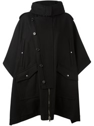 Diesel Black Gold 'Keshinki' Oversize Coat Black