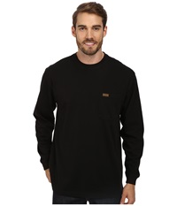 Pendleton L S Deschutes Tee Black Men's Long Sleeve Pullover
