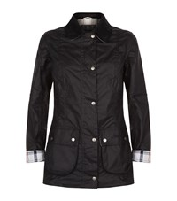 Barbour Iona Wax Jacket Female Black
