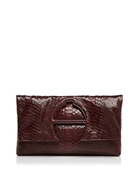 Etienne Aigner Bombe A Clutch Cordovan