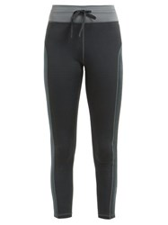 The Upside Titanium Technical Jersey Leggings Dark Grey