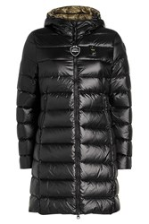 Blauer Impermeable Quilted Down Coat Black