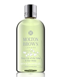 Dewy Lily Of The Valley And Star Anise Bath And Shower Gel 10 Oz. Molton Brown