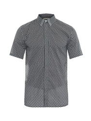 Marc Jacobs Honeycomb Print Cotton Shirt