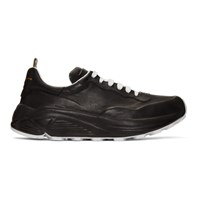 Officine Creative Black Sphyke 1 Sneakers