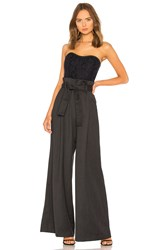 Marissa Webb Frances Jumpsuit Charcoal