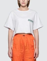 Misbhv The Mbh Hotel And Spa Cropped T Shirt White