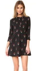 A.L.C. Terry Dress Black Black