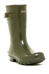 Barbour Short Gloss Boot Green