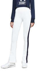 Splits59 Raquel Stripe Sweats White Indigo