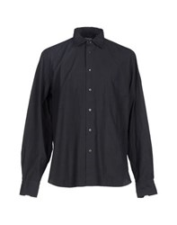 G.V. Conte Shirts Shirts Men Steel Grey
