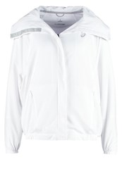 Asics Athlete Tracksuit Top Real White
