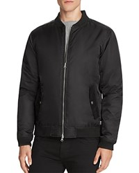 Wesc Rush Nylon Bomber Jacket Black