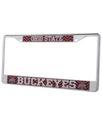 Stockdale Ohio State Buckeyes Chevron License Plate Frame Red