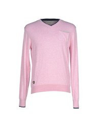 Fred Mello Knitwear Jumpers Men Pink
