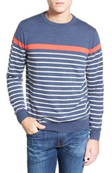 Men's Vineyard Vines Stripe Merino Wool Crewneck Sweater