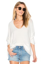 Free People Dolman Pullover Top White