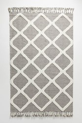 Anthropologie Woven Marah Rug Swatch Grey