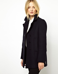 Whistles Carmel Military Pea Coat