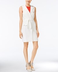 Bar Iii Belted Utility Dress Only At Macy's Pearl