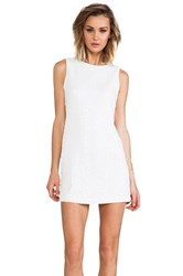 Naven Sequin Twiggy Dress White