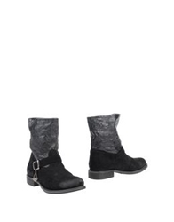 Twin Set Simona Barbieri Ankle Boots Black