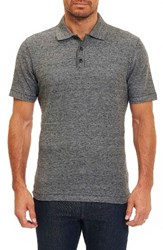Robert Graham Men's Messenger Pique Polo