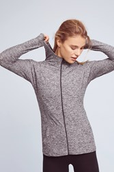 Anthropologie Lightened Hoodie Light Grey