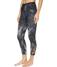 The North Face Motivation Strappy Leggings Tnf Black Wings Print Prior Season Casual Pants