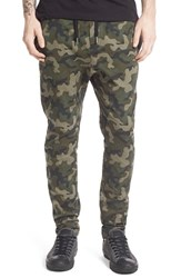 Men's Zanerobe 'Salerno' Jogger Pants Dark Camo
