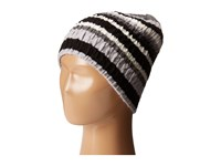 Smartwool Striped Chevron Hat Light Grey Heather Cold Weather Hats Gray