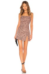 By The Way Kensley High Slit Shift Dress Pink
