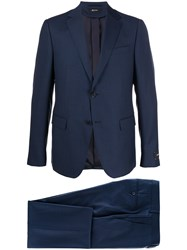 Z Zegna Single Breasted Wool Suit 60