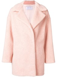 Harris Wharf London Short Coat Nude And Neutrals
