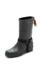 Aigle Miss Julie Harness Boots Asphalt