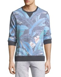Sol Angeles Lanai Leaf Pullover Sweater
