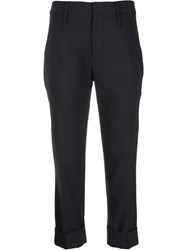 Tela Remo Cropped Trousers Blue