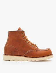 Red Wing Shoes 875 6 Inch Moc Boot Oro Legacy