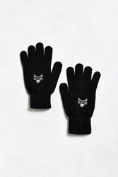 Urban Outfitters Skull Glove Black