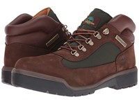 Timberland Field Boot F L Waterproof Chocolate Old River Nubuck Men's Lace Up Boots Brown